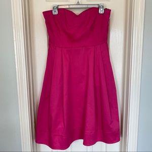 Calvin Klein Pink Strapless Dress Size 8